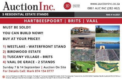 On Auction -  Property On Auction in Hartbeespoort