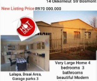 R 97,000,000 - 5 Bed Home For Sale in Bosmont