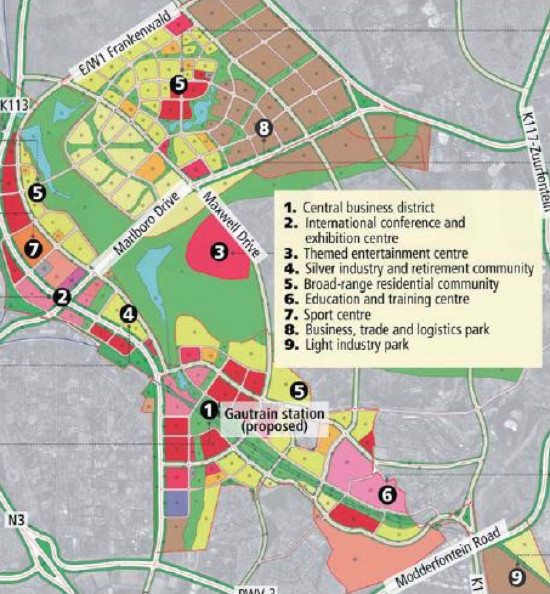 Construction Starts On Joburg Mini-city : Property News