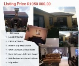 R 105,000,000 - 4 Bed Property For Sale in Dobsonville