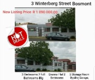 R 109,000,000 - 3 Bed Home For Sale in Bosmont