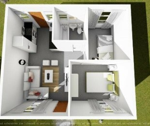 R 1,609 - 1 Bed Flat To Rent in Devland