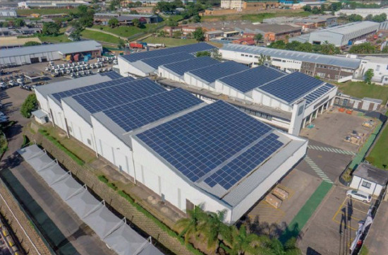 Pinetown Vehicle Plant Goes Solar Property News From